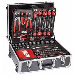 Walizka na kółkach z narzędziami USAG 181 szt.