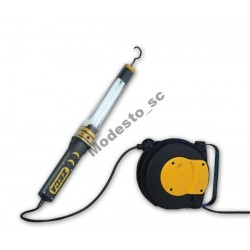 Zwijadło elektryczne 8m ZECA 9001/308 z lampą