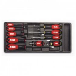 Zestaw śrubokrętów wkrętaków USAG 519/322H 10szt.